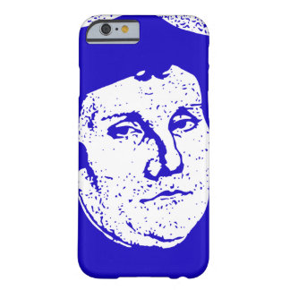 Blue Luther Barely There iPhone 6 Case