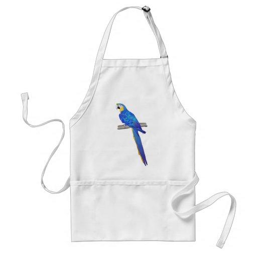 Blue Macaw Apron