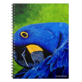 Blue Macaw Notebook
