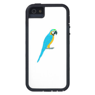 Blue Macaw Parrot iPhone 5 Cases