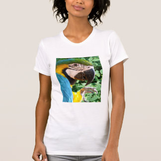Blue Macaw Parrot  T-shirt