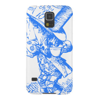 Blue Mad Hatter Case For Galaxy S5