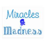 Blue Madness Postcard