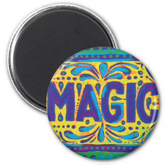Blue Magic 2 Inch Round Magnet