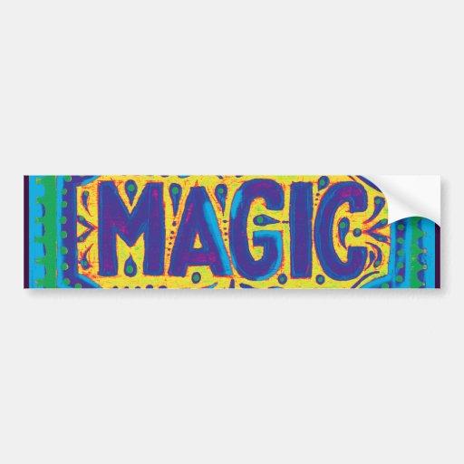 Blue Magic Bumper Sticker