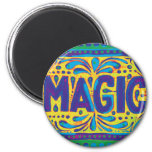 Blue Magic Refrigerator Magnets