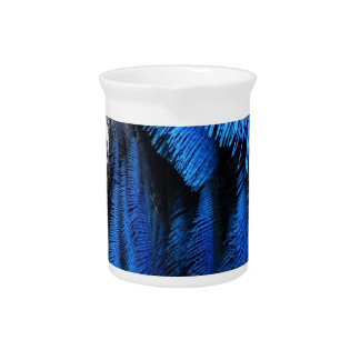 Blue Magical Peafowl Drink Pitchers