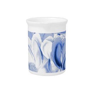 Blue Magnolia Dream Beverage Pitchers