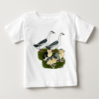 Blue Magpie Duck Family Baby T-Shirt