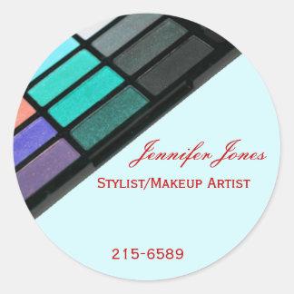 Blue Makeup Sticker