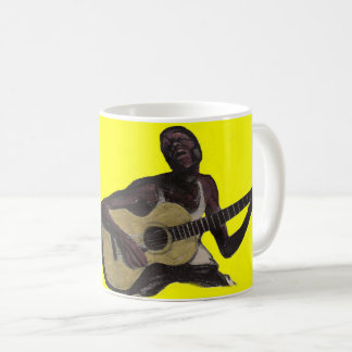 blue man singing the blues coffee mug