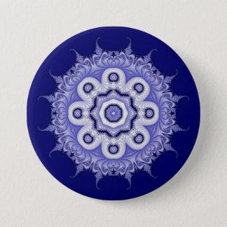 Blue Mandala Fractal 200706072332 Button
