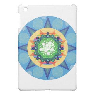 Blue mandala iPad mini case