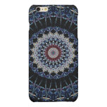 Blue Mandala iPhone 6 Plus Matte Case Savvy Matte iPhone 6 Plus Case