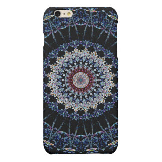 Blue Mandala iPhone 6 Plus Matte Case Savvy Matte iPhone 6 Plus Case