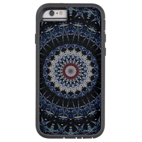 Blue Mandala iPhone 6 Tough Xtreme case-mate Phone Case