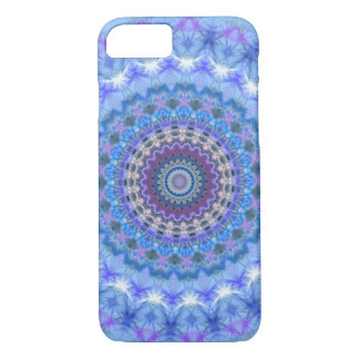 Blue Mandala iPhone 7 case