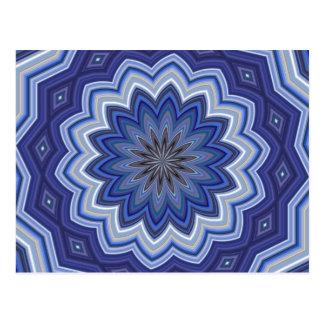 Blue Mandala Postcard