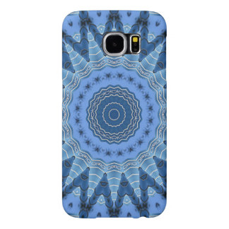 Blue Mandala Samsung Galaxy S6 Case