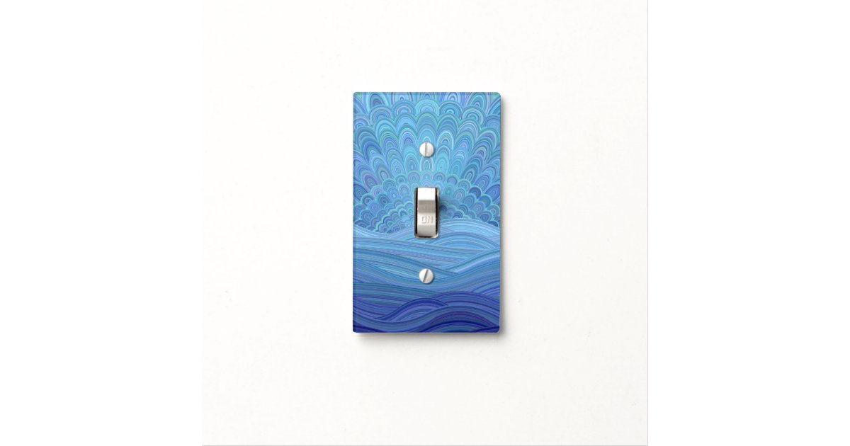 Sunset At The Ocean Light Switch Cover