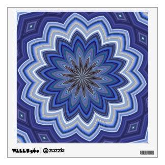 Blue Mandala Wall Decal