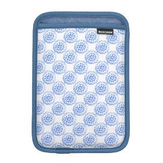 Blue Mandalas Round Motif Design 2 + add Sleeve For iPad Mini