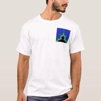 Blue Mandelbrot T-Shirt