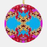 Blue Mandle Ornament