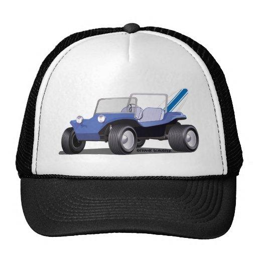 Blue Manx Side Trucker Hat
