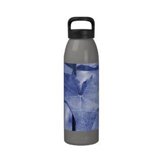 Blue Maple Leaf Drinking Bottles