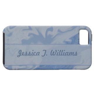 blue marbel background iPhone SE/5/5s case