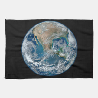 Blue Marble 2015 - Earth, Space, Planets Kitchen Towels