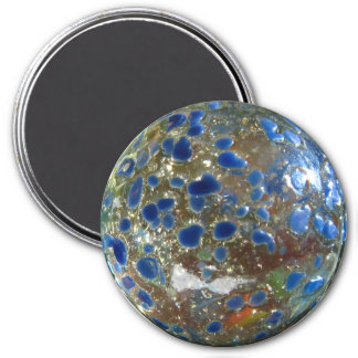 Blue Marble 3 Inch Round Magnet