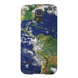Blue Marble_all over bleed design Cases For Galaxy S5