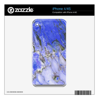 Blue marble decals for iPhone 4S