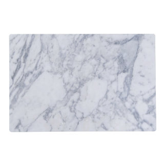 blue marble look placemat