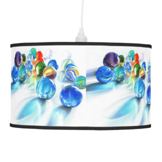 Blue Marble Reflection Lamp