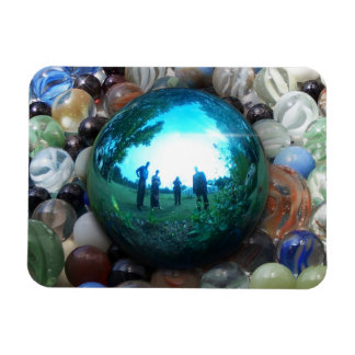 Blue Marble Surreal Reflections Magnet
