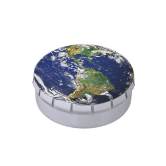 Blue Marble_whole world of jelly beans & mints Candy Tins