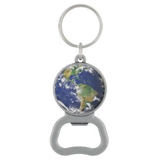 Blue Marble World Earth Planet Bottle Opener