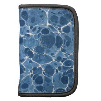 Blue Marbleized Folio Planner