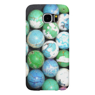 Blue Marbles Samsung Galaxy S6 Cases