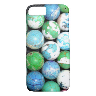 Blue Marbles iPhone 8/7 Case