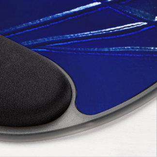 Blue Marine Conceptual Lines Mousepad Gel Gel Mouse Pad