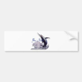 blue marlin bumper stickers
