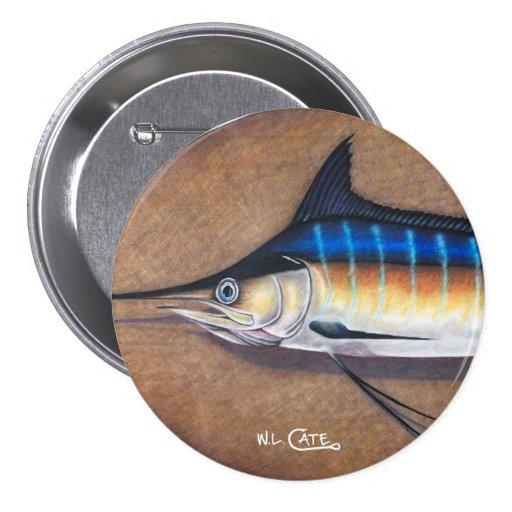 Blue Marlin Button