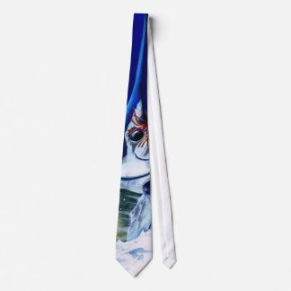 Blue Marlin close encounters Tie