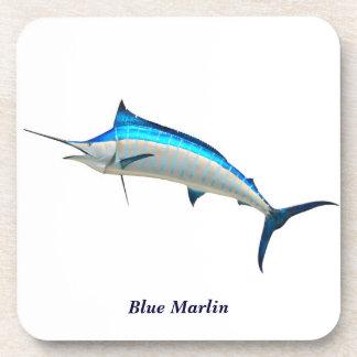Blue Marlin Drink Coasters