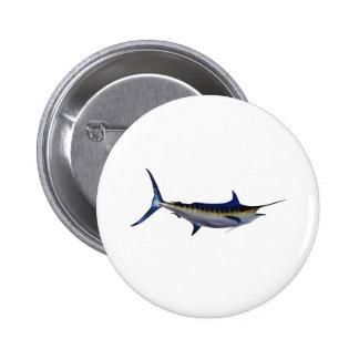 Blue Marlin Fish Buttons
