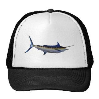 Blue Marlin Fish Trucker Hats